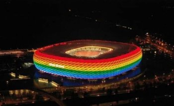 La UEFA rechaza la solicitud de proyectar 'luces arcoíris' en Múnich