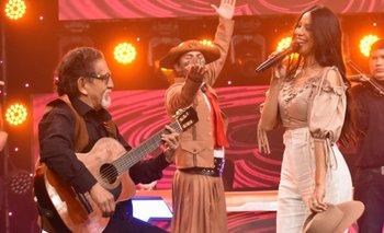 César Espada y Morelia Herrera cantaron