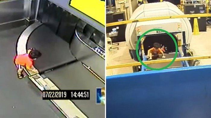 Niño de 2 años es devorado por cinta transportadora