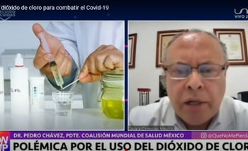 Dióxido de Cloro, la alternativa para combatir el Covid-19