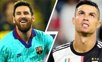 Cristiano Ronaldo alcanza a Messi en goles