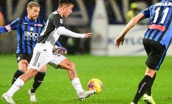 Doblete de Ronaldo salvó a Juventus ante Atalanta