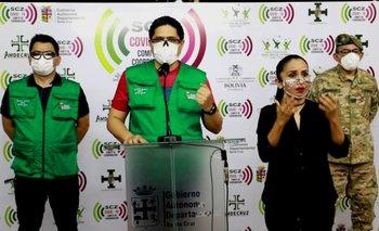 Santa Cruz registra 275 nuevos casos y bordea los 25 mil contagios por Covid-19