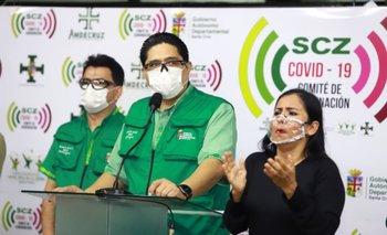 Santa Cruz superó los 25 mil contagios de Covid-19