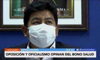 Oposición y oficialismo opinan sobre el Bono Salud anunciado por la presidenta Áñez