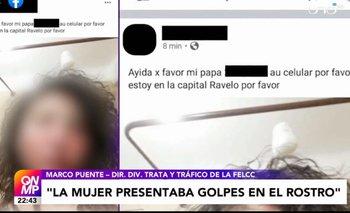 Desgarrador audio de auxilio de la joven secuestrada por su expareja