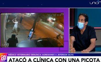 Médico veterinario sentó denuncia contra sujeto que atacó su clínica con picota en mano
