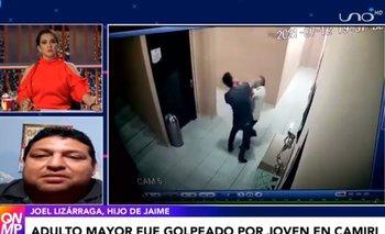 Hijo del adulto mayor que fue golpeado pide al agresor entregarse a las autoridades