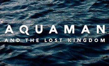 Jason Momoa anuncia el inicio del rodaje de Aquaman 2