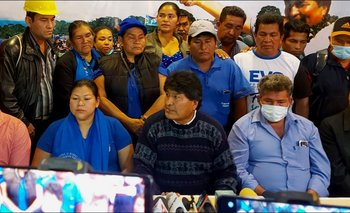 Evo Morales adelanta que se sancionará con pérdida de curul a 'traidores' del MAS