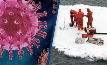 Científicos descubren más de 30 virus congelados en Hielo, la mayoría nunca antes vistos