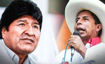 Presidente electo de Perú, Pedro Castillo, invita a su posesión a Evo Morales