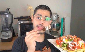 Youtuber Frede Brocha preparó Pique Macho,