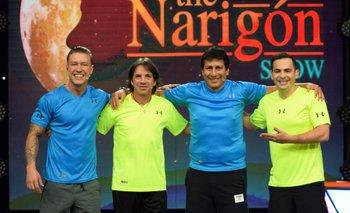 VIDEO: El programa se vistió de fútbol con Álvaro Peña y Luis Cristaldo