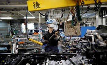 La actividad fabril de Japón en julio crece al ritmo más lento en 5 meses -PMI