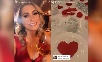 ¿Encontró el amor? ¡Grisel Quiroga en una cena romántica!