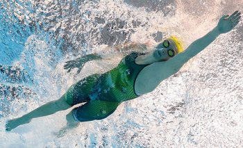 Más oros para Titmus y Ohashi en la piscina de Tokio, británicos ganan relevo masculino 4x200 libres