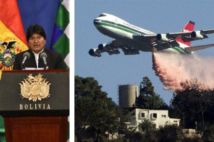 Evo anuncia contratación del avión SuperTanker para sofocar incendios