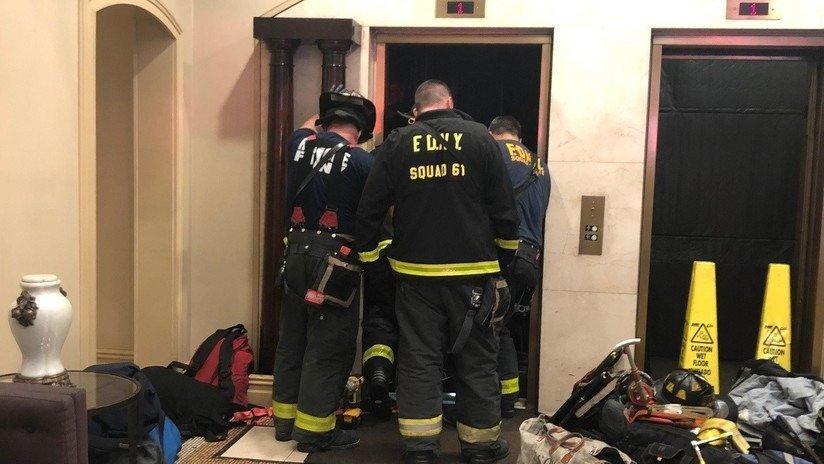 Murió el un ascensor de un edificio de lujo de Nueva York