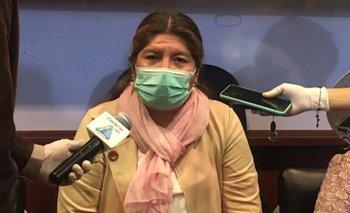 Gobernadora de Cochabamba dio negativo a prueba Covid-19