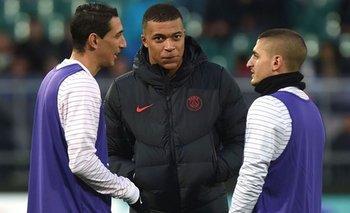 Sin Verratti, sin Di Maria, y Mbappé entre algodones, el PSG enfrenta hoy al Atalanta