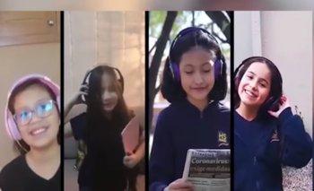 Colegio convierte la canción de Ian Vega en su himno