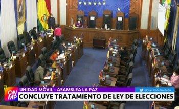 Senado aprueba Ley de Elecciones y Gobierno anuncia que la promulgará