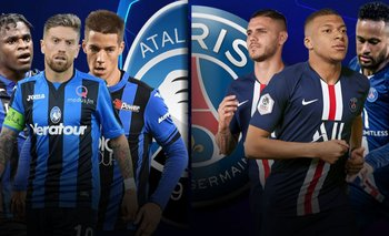 Minuto a minuto: Atalanta vs PSG cuartos de final Champions League