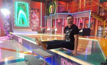 Chichi Kim y su patada voladora en Bigote el Show