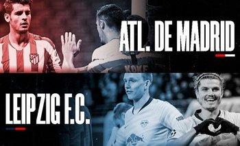 Minuto a minuto: Leipzig vs Atlético de Madrid cuartos de final Champions League