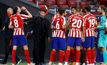 Tras la eliminación del Atlético de Madrid en Champions, llegaron los memes contra Simeone