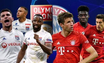 Minuto a Minuto: Bayern Múnich vs Olympique Lyon