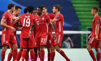 Paciente, táctico y eficaz. Bayern Múnich venció por  3-0 al Lyon y se metió en la gran final