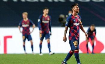 Medios españoles aseguran que Messi no continuará en el Barcelona