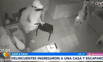 Victima de intento de robo utilizó un megáfono para ahuyentar a delincuentes