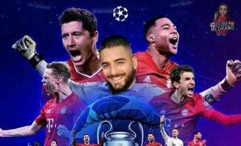 Tras la consagración del Bayern Múnich, las redes se llenaron de 'memes' de Maluma contra Neymar