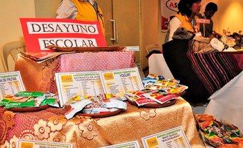 Cuatro alcaldías de Bolivia presentan proyecto de ley para modificar el desayuno escolar