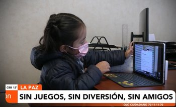 Niños introvertidos y relacionamiento mediante una pantalla es la nueva  vida escolar debido a la pandemia