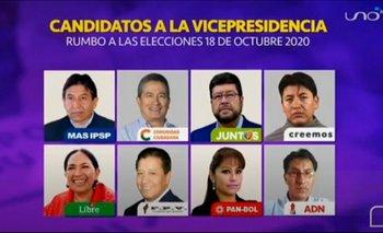 Choquehuanca, Pumari y Doria Medina, los ausentes en el primer debate vicepresidencial