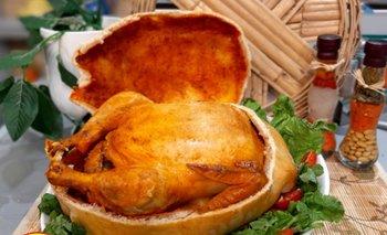 Pollo en Masa