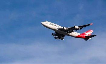 El vuelo de una aerolínea a