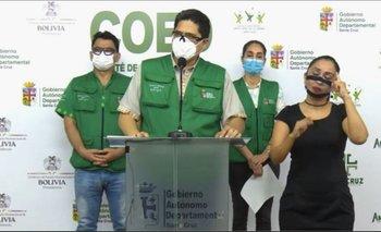 Santa Cruz registra 36 nuevos casos por Covid-19; Sedes pide un buen comportamiento para el fin de semana