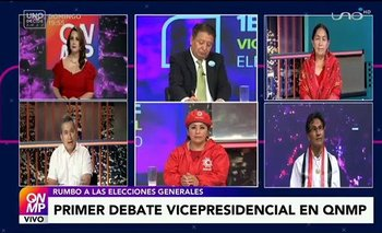 QNMP & Uno Decide 2020 - 1er Debate Vicepresidencial