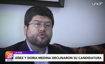 Samuel Doria Medina habla sobre su declinatura a candidato vicepresidencial