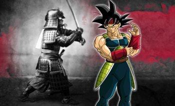 Artista y Fanart de Dragon Ball Z convierte a Bardock como un samurái