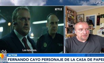 Personaje icónico de la Casa de Papel entrevistado en El Mañanero