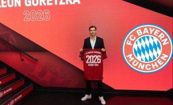 Chau Madrid: Leon Goretzka renovó contrato con el Bayern
