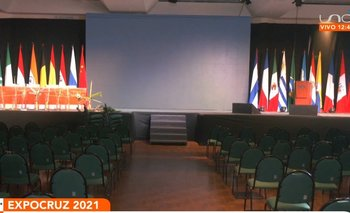 A horas de la inauguración de la Expocruz 2021