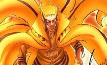 Revelan el diseño oficial del modo Barión de Naruto para el anime
