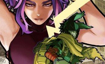 El manga My Hero Academia reveló su portada del volumen 32